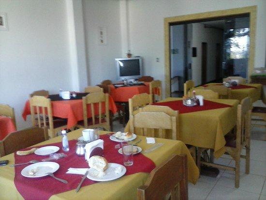 Cazuza Palace Hotel: Sala de café