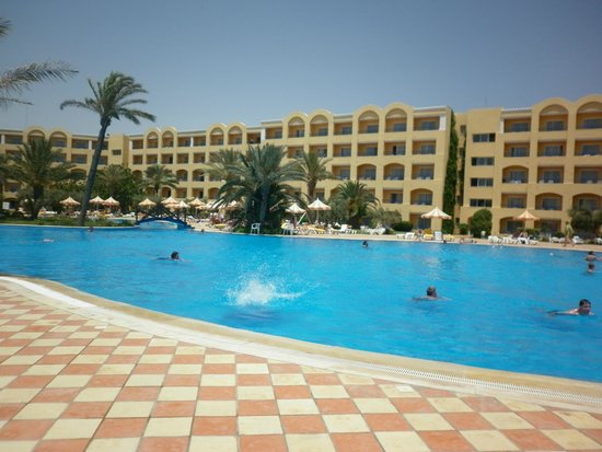 Nour Palace Resort : The Pool