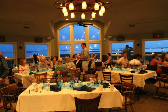 Pamlico Jacks Dinner Winding Down In The Private Dining Room Upstairs