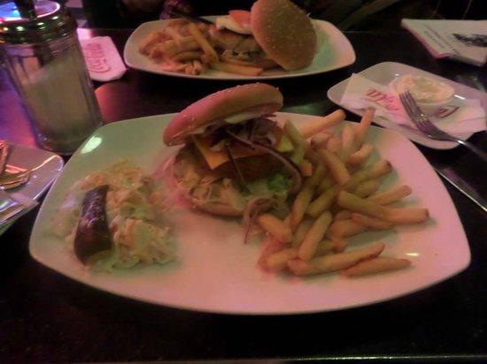 Classic American Diner: Vegi burger