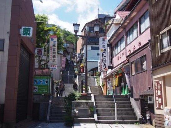 Ikaho Stone Step Street : 石段