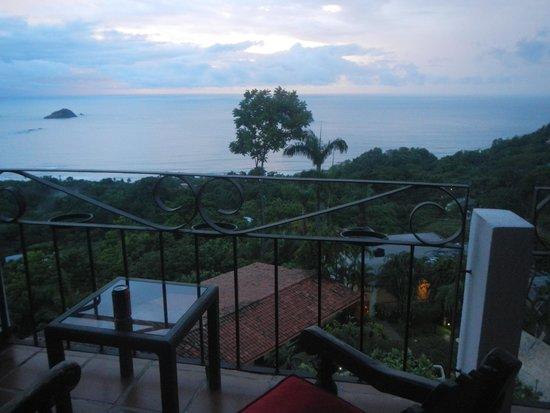 La Mariposa Hotel: View from room toward NW