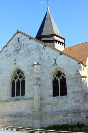 Église Sainte-Radegonde de Giverny : The Church