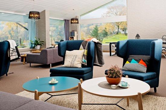 Eidfjord Fjell & Fjord Hotel: Livingroom
