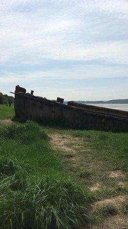 Purton Ships Graveyard: Purton, Ship Graveyard