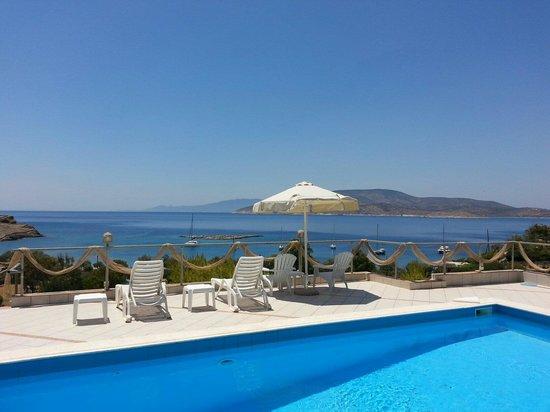 Archipelagos Boutique Hotel: Pool view