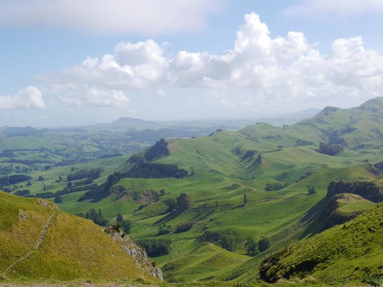 Roughly north view from Te Mata Peak
