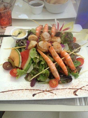 La Croisette: Salade fruits de mer
