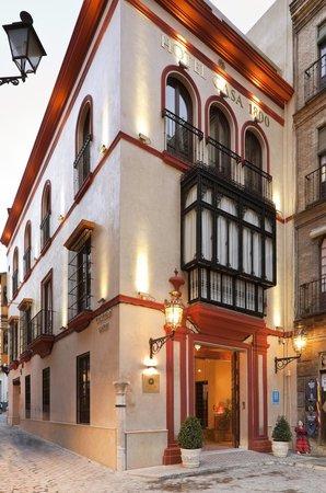 Hotel Casa 1800 Sevilla : Fachada Hotel