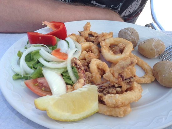 Restaurante Os Gallegos : Fried squid rings