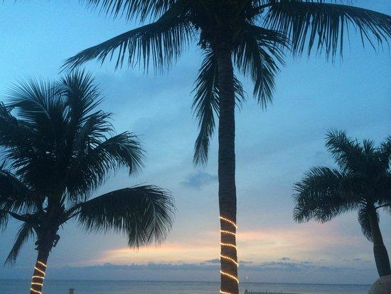 El Cozumeleño Beach Resort: Beautiful sunsets!