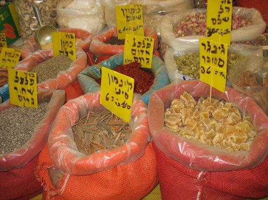 Mahane Yehuda Market: Spices