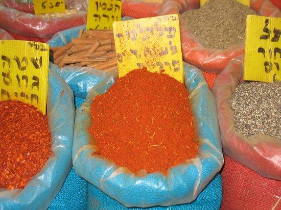 Mahane Yehuda Market: Spices2