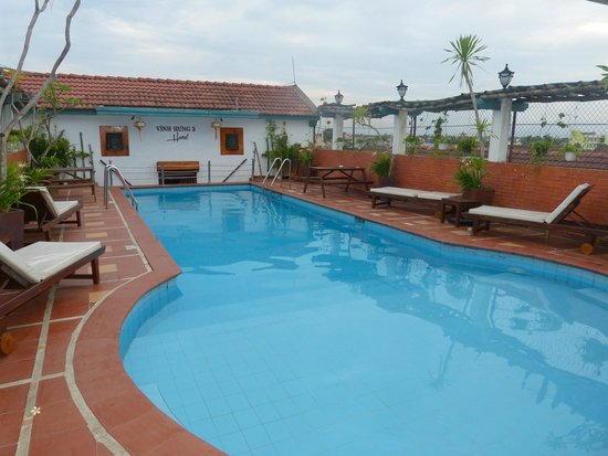 Vinh Hung Library Hotel: Pool