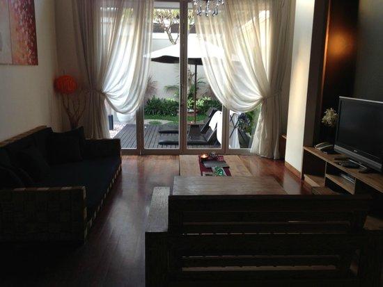 The Seiryu Villas : Living Room
