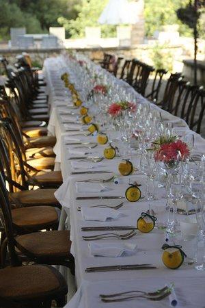 سان سيورانا: Special event dinner