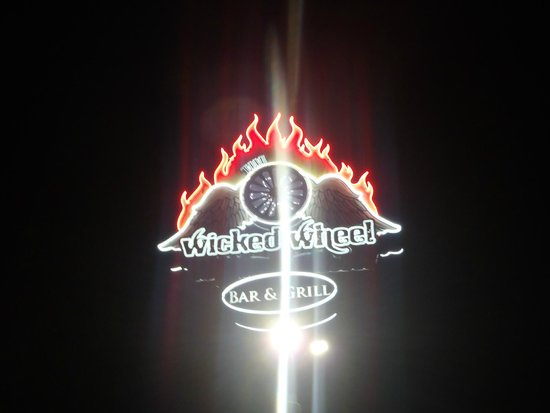 The Wicked Wheel Bar & Grill: Sign to Wicked Wheel!