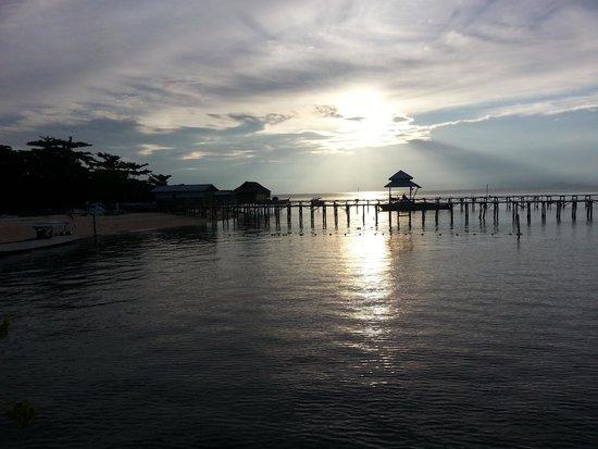 Borneo Divers Mabul Island Resort : mabul..