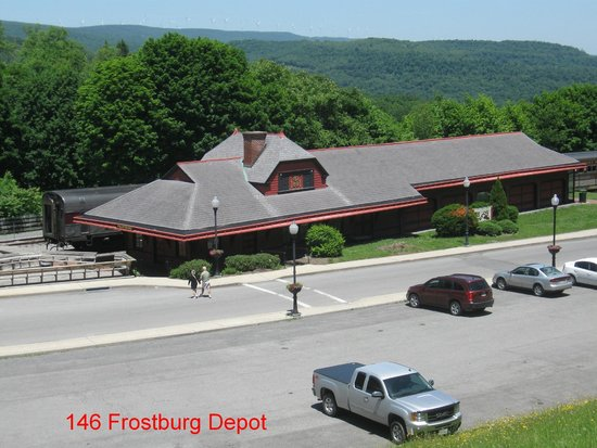 Western Maryland Scenic Railroad: Frostburg Depot