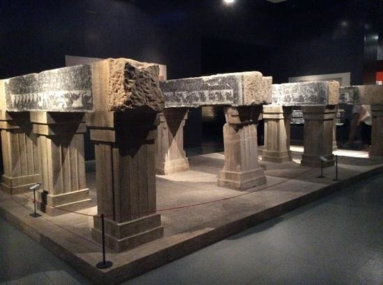 Shandong Museum : Bricks from an archaeological site