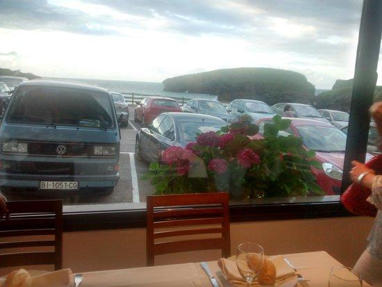 Hotel Kaype - Quintamar: Las vistas desde la mesa en la cena