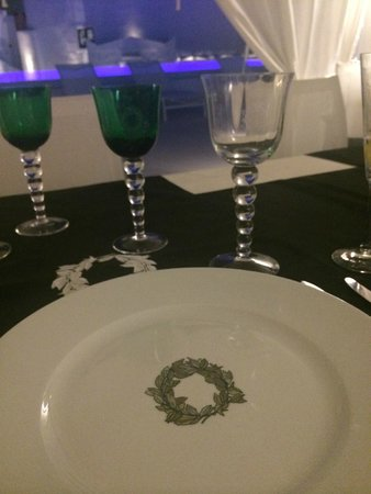 The Tsitouras Collection Hotel: Private dinner place setting