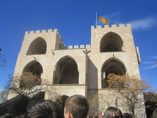 Torres de Serranos : Le Derrière