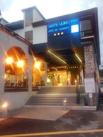 Hotel Kaype - Quintamar: La entrada