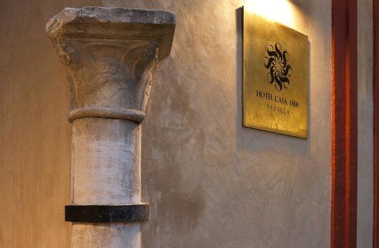 Hotel Casa 1800 Sevilla : Detalle Fachada Hotel