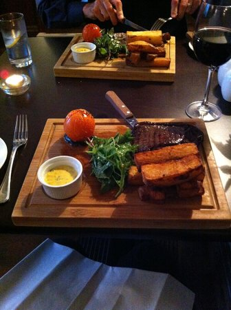 Best Western Plus The Croft Hotel: very good evening meal