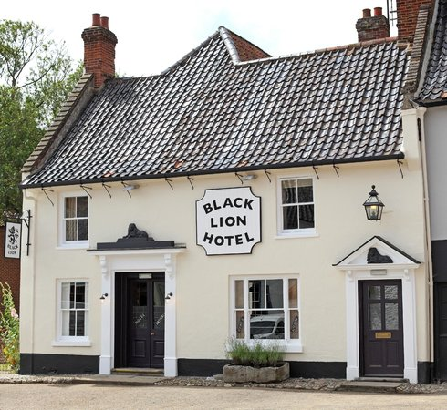 Black Lion Hotel Restaurant: Restaurant Exterior
