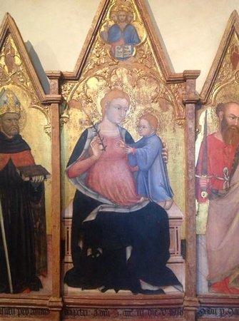 """Galleria Nazionale dell'Umbria : Ottaviano Nelli, Polittico di Pietralunga. ed è uno dei """"minori"""", figuratevi il resto!"""