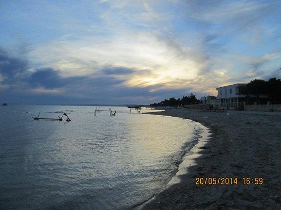 Yeniciftlik, ตุรกี: view of the beach