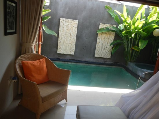 Legian Kriyamaha Villa : Small pool