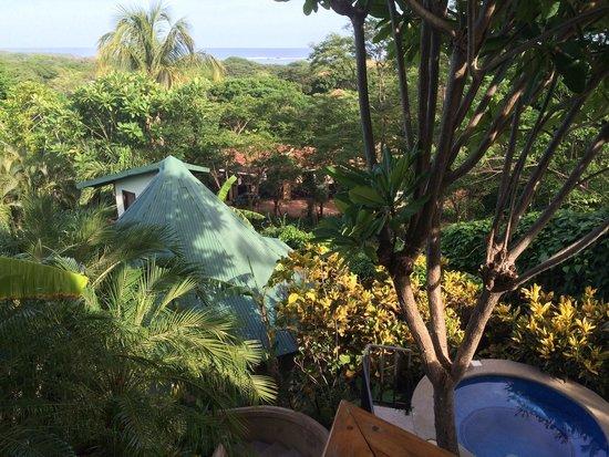 Tamarindo Village Hotel: View from villa balcony