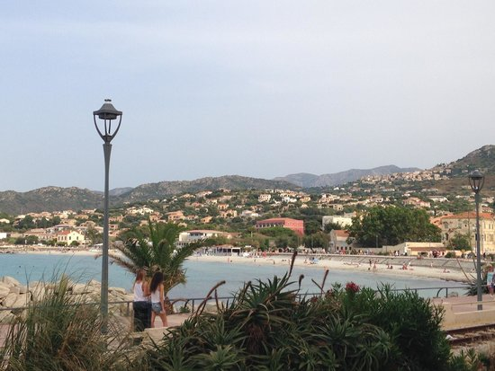 Restaurant L'Escale : The view from our table