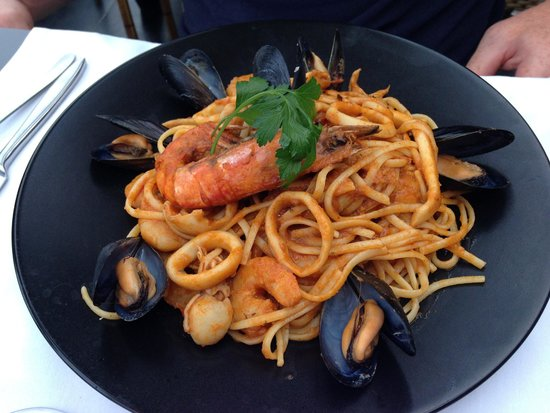 Restaurant L'Escale : The seafood linguine
