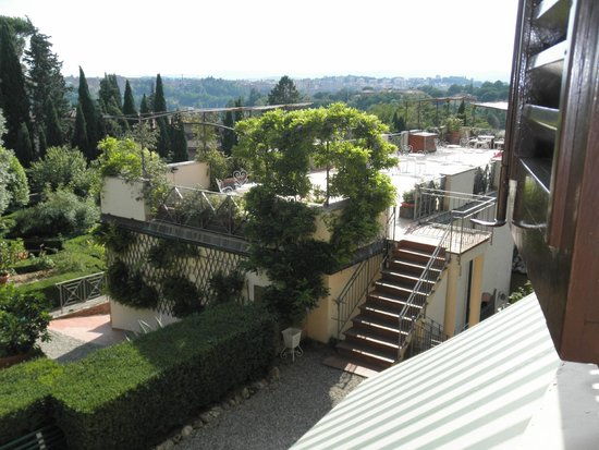 Villa Scacciapensieri: View from room 31
