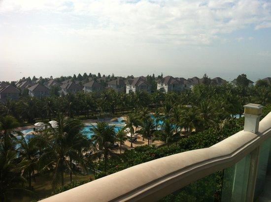 Sea Links Beach Hotel: vue de la chambre