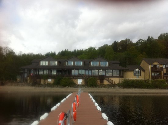 Lodge on Loch Lomond : From the new Jetty