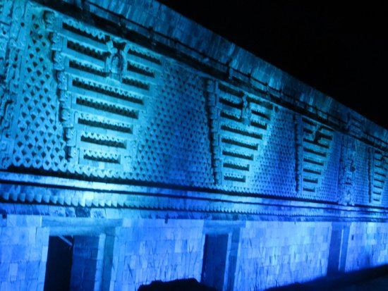 Hotel Hacienda Uxmal Plantation & Museum : Uxmal light show