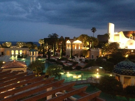 Monte-Carlo Bay & Resort : View from restaurant terrace