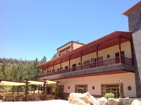 Hotel Spa Villalba: bar de terraza