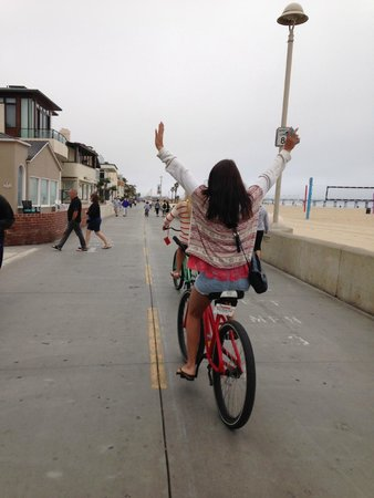 The Sea View Inn at the Beach: Hotel's free Beach Cruisers!