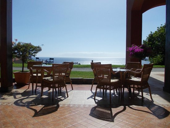 La Palma Princess & Teneguia Princess: Terrasse de l'hôtel avec sa vue spendide