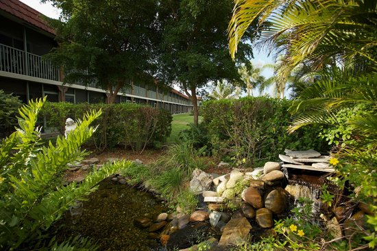 West Wind Inn: Lush Landscaping
