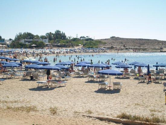 Pavlo Napa Beach Hotel: beach