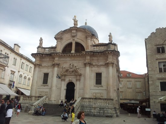 Placa Thoroughfare (Stradun): Sant'Ignazio