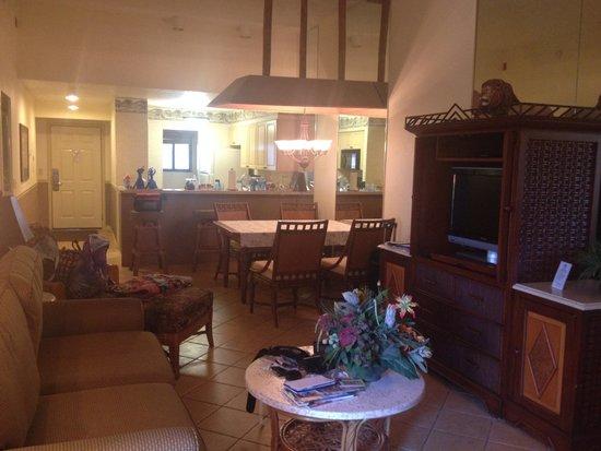 Parkway International Resort: Sala de estar / sala de jantar / cozinha