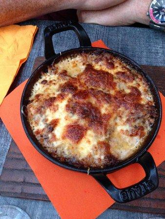 L'osteria : Lasagne